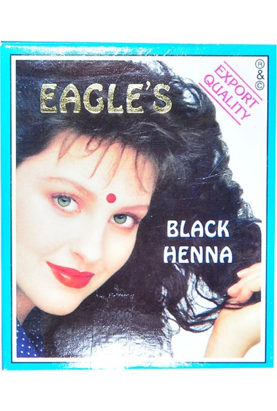 Eagles Siyah Hint Kınası 10 gr