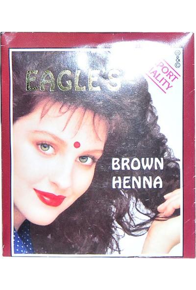 Eagles Kahverengi Hint Kınası 10 gr