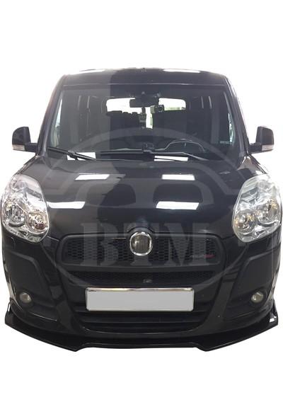 BTM Otomotiv Fiat Doblo 3 Parça Ön Karlık Piano Black
