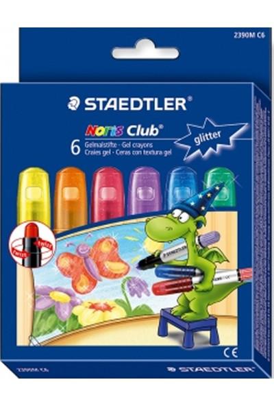 Staedtler 2390M C6 Noris Club Glitter Mum Boya 6'lı