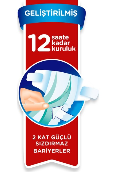 Prima Bebek Bezi 6 Beden Fırsat Paketi 13-18 Kg (3*40) 120