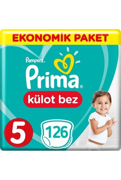 Prima Külot Bebek Bezi 5 Beden Ekonomik Paket 42*3 126