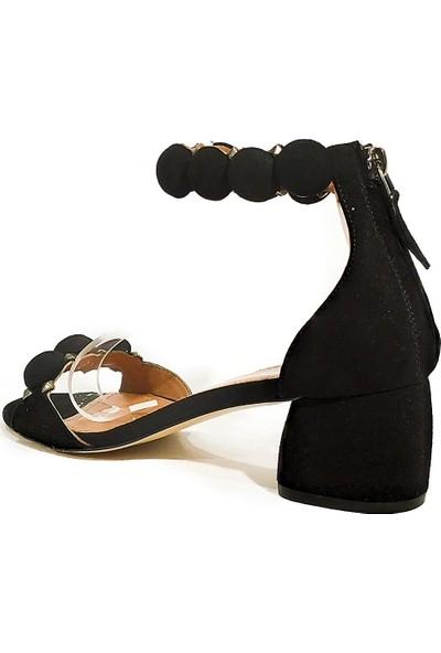 Sofia Baldi Deri Klasik Topuklu Sandalet