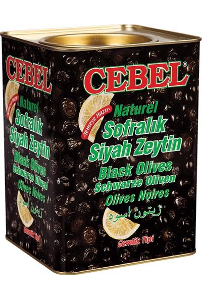 Cebel Siyah Zeytin 3500 gr Teneke