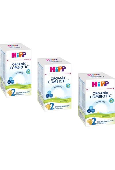 Hipp 2 Organik Combiotic Bebek Sütü 800 gr - 3 Adet