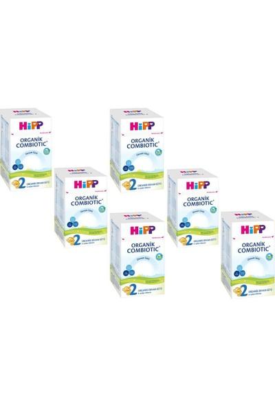 Hipp 2 Organik Combiotic Bebek Sütü 800 gr - 6 Adet