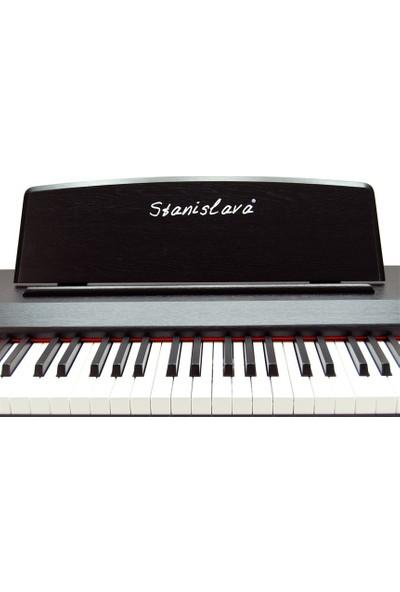 Digital Piano Standart 81 Tuş Hammer Action STDP304 - Siyah