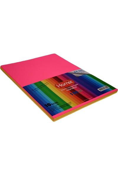 Homix Renkli Fosforlu Fotokopi Kağıdı 100'lü