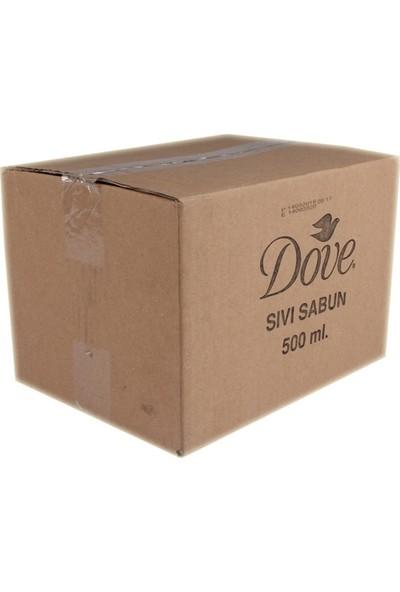 Dove Sıvı Sabun 500ml Original Nemlendirici-12'li Koli