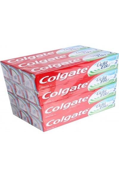 Colgate 3'lü Etki 100ml Nane Ferah - 12'li Paket