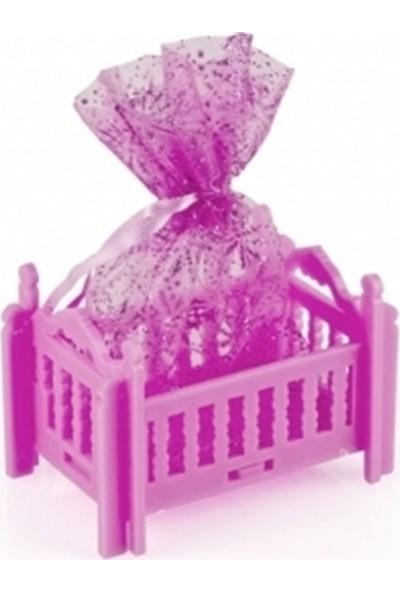 Nargo Bebek Mevlüt Şekeri Pembe Beşik - 12 Adet