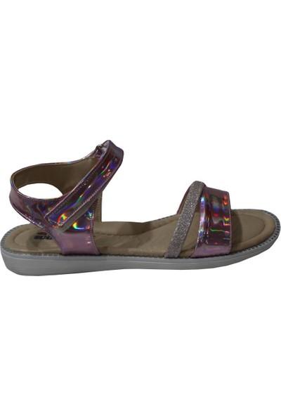 Mehmet Mete 0808 Pudra Mini Women Kız Çocuk Sandalet