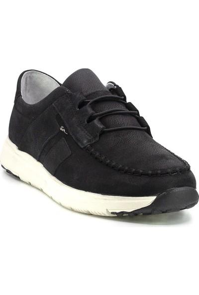 Marcomen 20Y 152-11315 Erkek Deri Günlük Ayakkabı Siyah