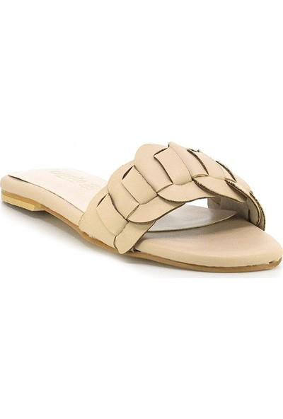 Eşle Ayakkabı 20Y Mitto 101 Kadın Günlük Terlik Bej
