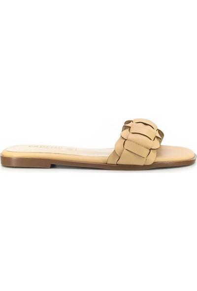 Eşle Ayakkabı 20Y Mitto 101 Kadın Günlük Terlik Vizon