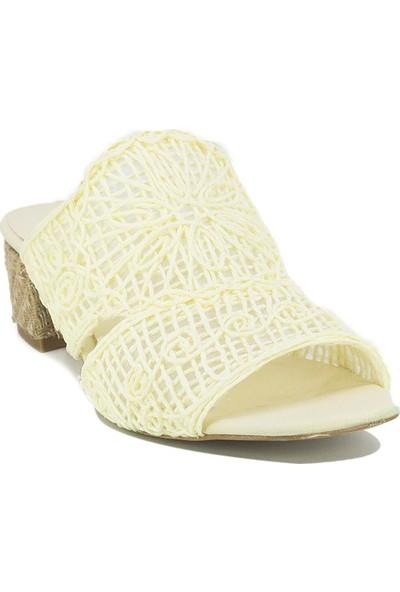 Eşle Ayakkabı 20Y Lukka 01 Günlük Kadın Terlik Bej