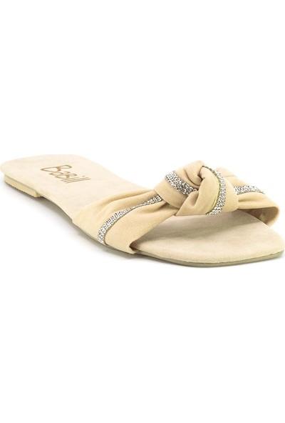 Eşle Ayakkabı 20Y Moda 202 Kadın Terlik Bej