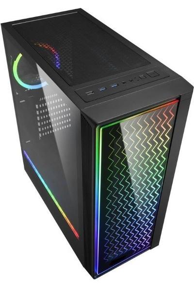 Molecule Ksenon YR3605 AMD Ryzen 5 3600X 16GB 480GB SSD RX580 Freedos Masaüstü Bilgisayar