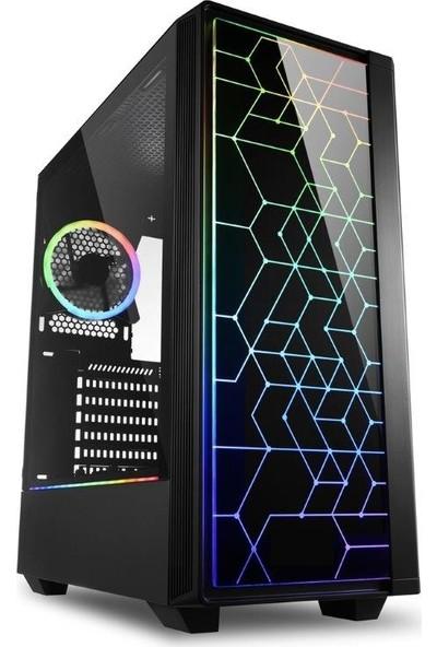 """Molecule Helyum YR3205 AMD Ryzen 3 3200G 8GB 240GB SSD RX550 Freedos 21.5"""" Masaüstü Bİlgisayar"""