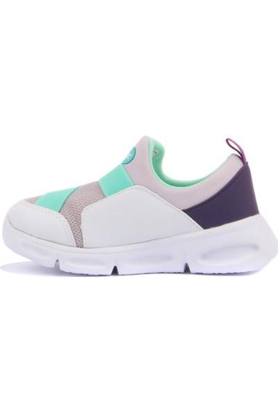 Cool 19-S23 Kız Çocuk Beyaz Günlük Spor Ayakkabı