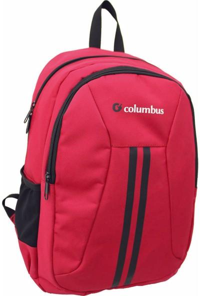 Columbus Two Çok Amaçlı Sırt Çantası Kırmızı