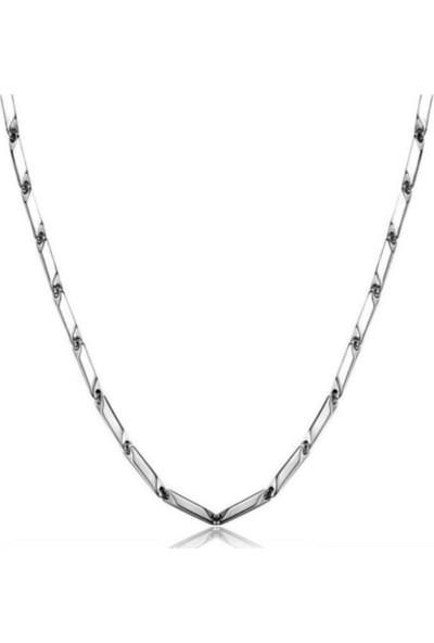 Ema Erkek Çelik Zincir Kolye 55 cm