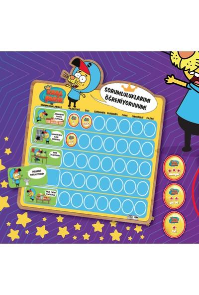 Chiva Kral Şakir Mıknatıslı Sorumluluk Takvimi Eğitici Kutu Oyunu ADCHV-102049