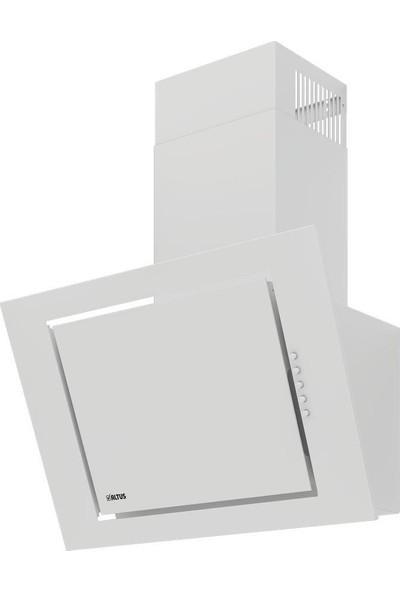Altus Ikili Beyaz Ankastre Set Ala 185 Gwd 530 W Davlumbaz