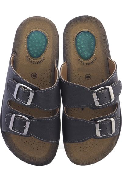 Ayakkabıvakti Topuk Destekli Erkek Terlik