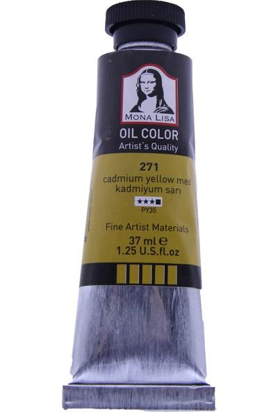 Mona Lisa 271 Yağlı Boya 37 ml Kadmiyum Sarı
