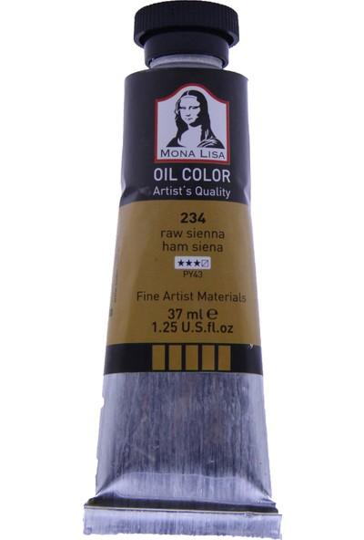 Mona Lisa 234 Yağlı Boya 37 ml Ham Siena
