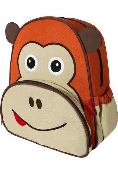 Zoozy Maymun Figürlü Anaokulu Çantası