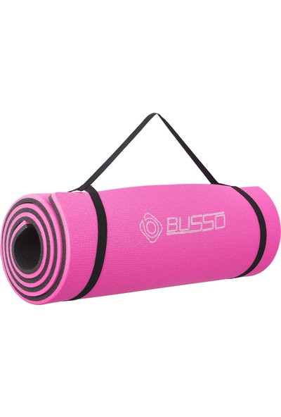 Busso PLT31 1,6 cm Pilates Matı- Pembe
