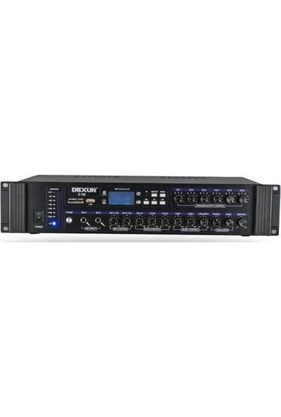 Dexun D-100 Amfi 6bölge-Usb-Trafo-Bluetooth