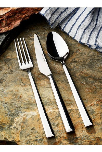 Hisar Optima 24 Parça Çatal Kaşık Bıçak Seti