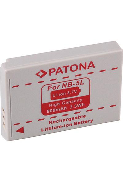 Patona Canon Fotoğraf Makineleri İçin Nb-5l Batarya