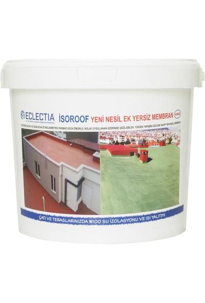 Eclectia Isoroof Yeni Nesil Ek Yersiz Mebran 18 kg Kırmızı