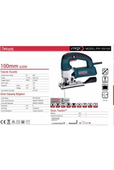 Prox 150100 Şanzımanlı Dekupaj Testere Profosyonel