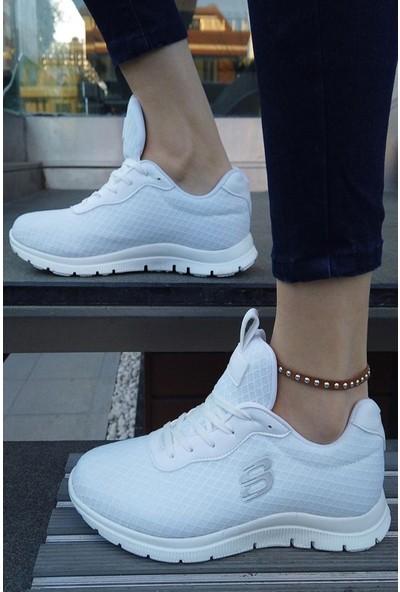 Ayax 140602 Beyaz Sneaker