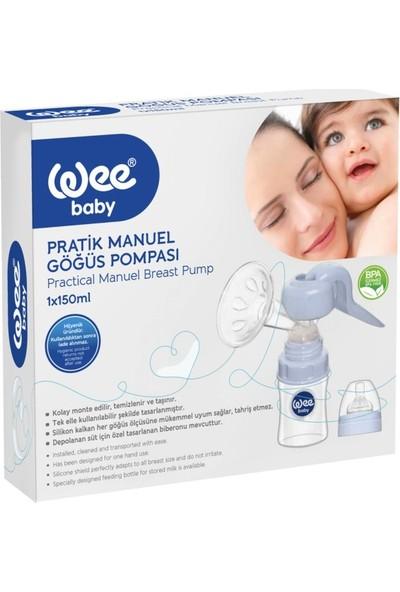 Wee Baby Pratik Manuel Göğüs Pompası + Klasik Plus Biberon