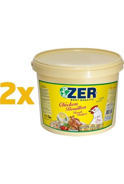 Zer Tavuk Bulyon Toz x 2 Kova - 5 kg