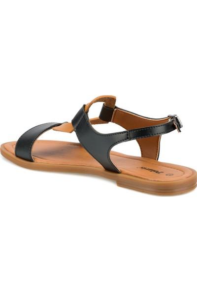 Polaris 315290.Z Siyah Kadın Sandalet