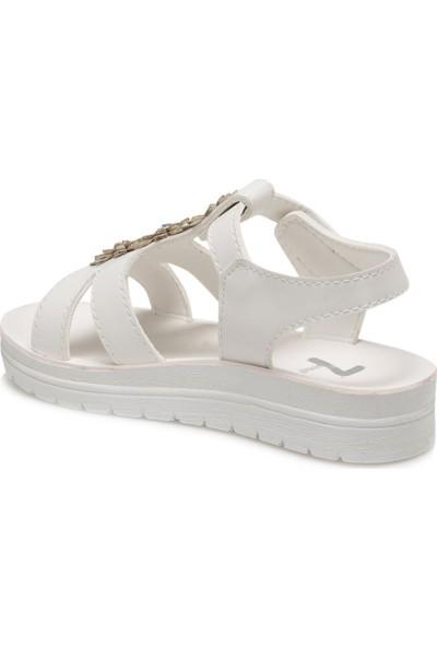 Seventeen Peggy.p Beyaz Kız Çocuk Sandalet
