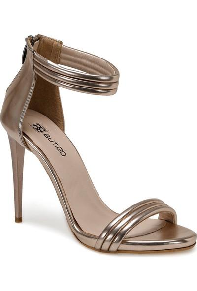 Butigo 20S-119 Rose Gold Kadın Topuklu Sandalet