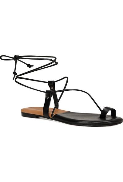 Nine West Alex Siyah Kadın Sandalet