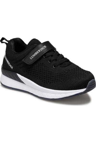 Lumberjack Connect Jr Siyah Erkek Çocuk Koşu Ayakkabısı