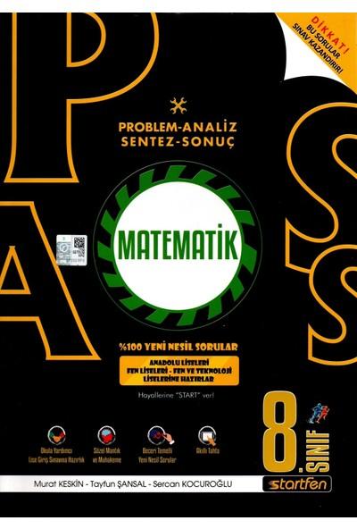 Startfen Yayınları Pass 8. Sınıf Matematik Yeni Nesil Soru Bankası