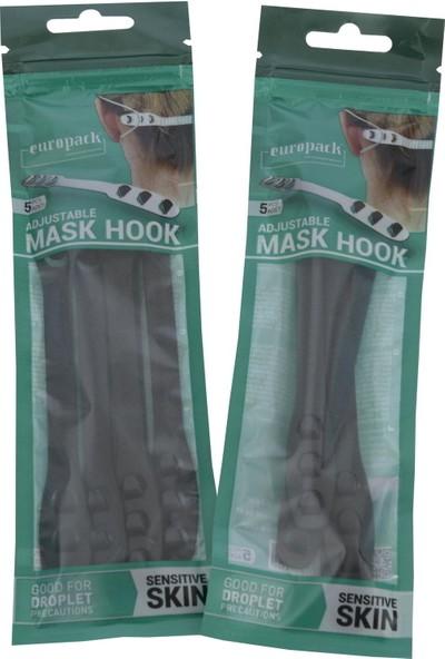 Europack Maske Aparatı Siyah 10'lu