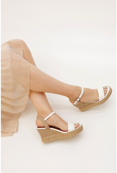 Marjin Henra Dolgu Sandalet