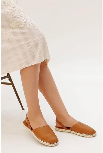 Marjin Kadın Molde Düz Sandalet